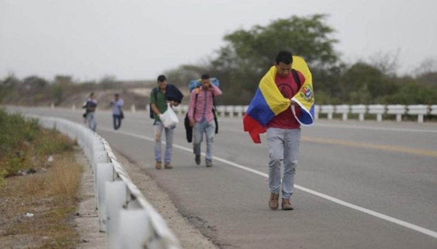 Caminantes venezolanos