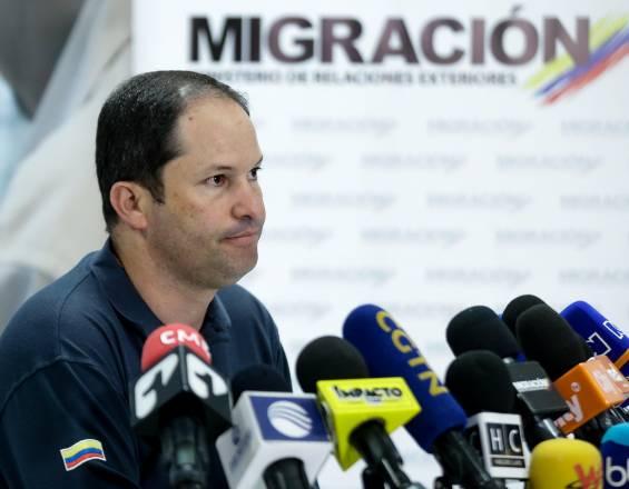 Foto: Cortesía. Director de Migración Colombia, Juan Francisco Espinosa Palacios