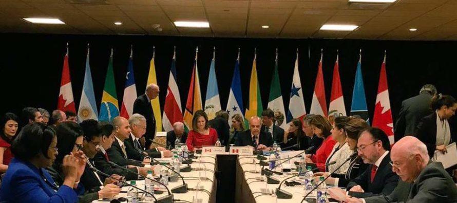 El Grupo de Lima respaldó este miércoles el informe que revela los crímenes de lesa humanidad en Venezuela, cometidos por el régimen. Por lo tanto, el organismo que agrupa a a 12 países pidió prorrogar la vigencia de la Misión de Determinación de Hechos.