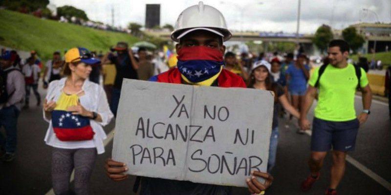 Los venezolanos sienten miedo, frustración y rabia por la situación en que se encuentra Venezuela