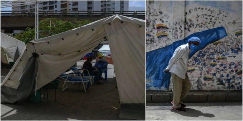 MSF presta apoyo a los pacientes con coronavirus en los hospitales centinelas. Fotos cortesía