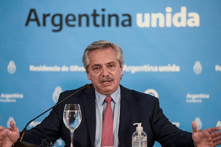 Alberto Fernández no ha dado una respuesta oficial a las acusaciones, pero representantes de su Gobierno rechazaron los señalamientos de Diosdado Cabello. Foto cortesía