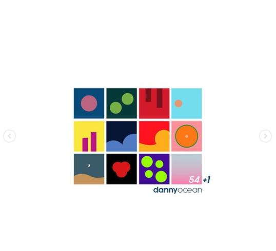 El disco 54+1 de Danny Ocean opta por un premio Billbard. Foto: Instagram