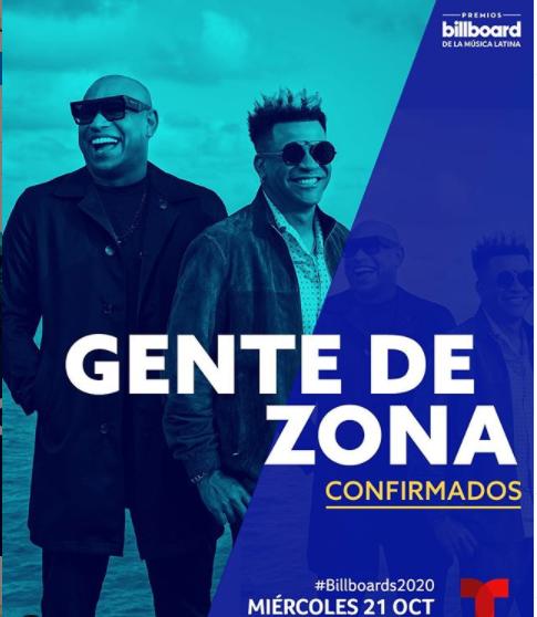 Gente de Zona compartirá en la gala de presentaciones que encabeza Ozuna. Foto: Instagram