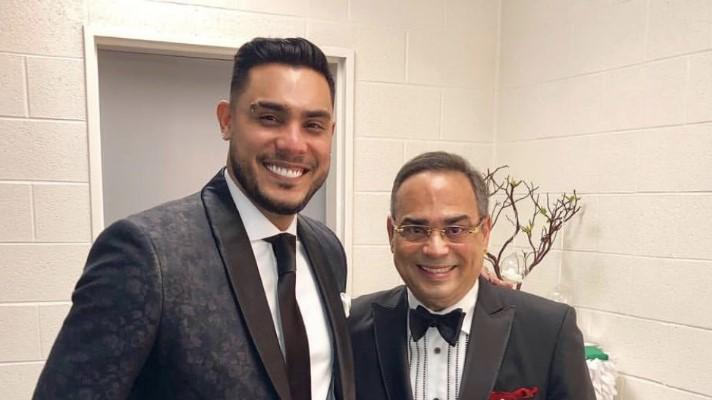 Ronald Borjas y Gilberto Santa Rosa vuelven a reunirse