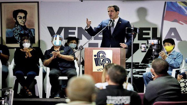 El presidente encargado, Juan Guaidó, rechazó las declaraciones de Tarek William Saab sobre las Fuerzas de Acciones Especiales (FAES). Se refirió a la pregunta del fiscal dle régimen, acerca de que no sabía qué le pasa a ese organismo de represión.