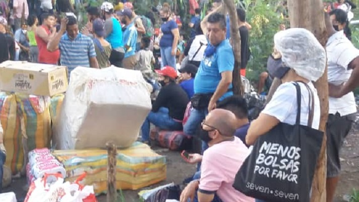 No importa la inclemencia del clima, las fronteras cerradas o el coronavirus. Los migrantes venezolanos siguen llegando a Colombia empujados por la crisis que azota a Venezuela.