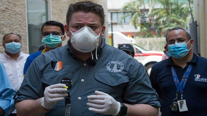 Gustavo Duque, alcalde del municipio Chacao, anunció la suspensión de los actos de despedida del 2020, debido a la pandemia.