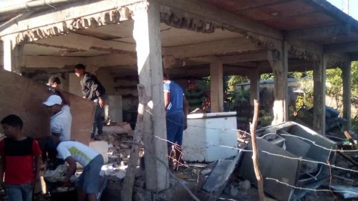 """""""No entiendo qué paso. Fui a prender el bombillo de la sala y la casa explotó"""", es el testimonio que Adriana Figueroa dio a sus vecinos y familiares. Se trata de la segunda explosión de gas en el estado Monagas, en menos de un mes."""