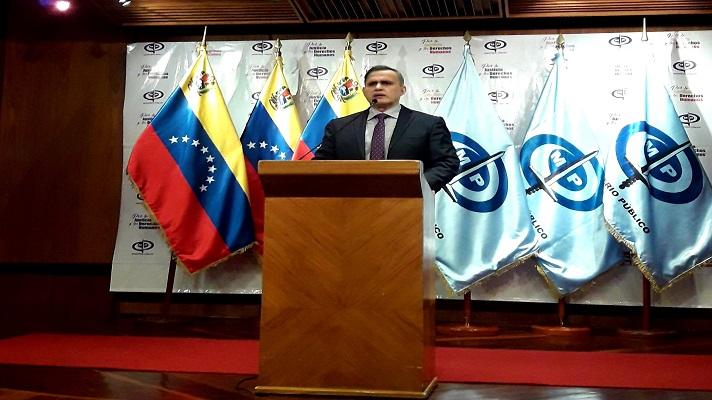El fiscal general designado por la extinta ANC, anunció la orden de aprehensión contra los directivos de Citgo designado por la Asamblea Nacional de Juan Guaidó.