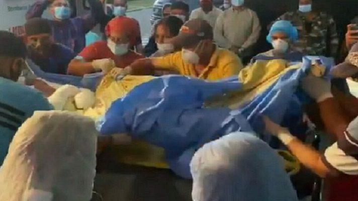 Los niños recluidos en la unidad de cuidados para quemados tras la explosión en Monagas, se encuentran