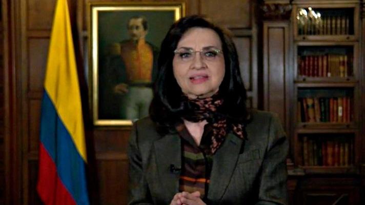 La canciller de Colombia, Claudia Blum, presentó este martes ante la OEA, el Estatuto Temporal para Migrantes Venezolanos.
