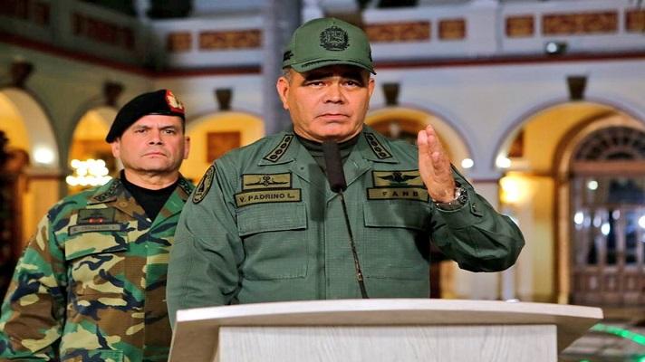 El ministerio de la Defensa de Nicolás Maduró se pronunció este lunes sobre los sucesos registrados en el estado Apure.