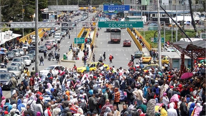 El 31 por ciento de los venezolanos que han ingresado a Ecuador estos últimos años lo ha hecho por pasos irregulares. El porcentaje restante por terminales fronterizas, según el último sondeo realizado por la Organización Internacional para las Migraciones (OIM).