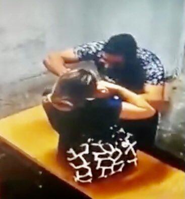 LO BUSCAN: sujeto que golpeó salvajemente a su víctima en un taller