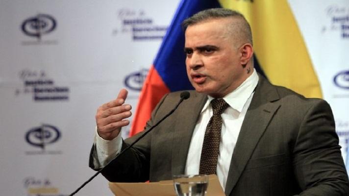 Tarek William Saab, fiscal de Nicolás Maduro, informó sobre la privativa de libertad contra dos funcionarios de Pdvsa Agrícola. También contra otras tres personas por su presunta responsabilidad en el robo de dos turbinas convertidoras de calor de esa empresa.
