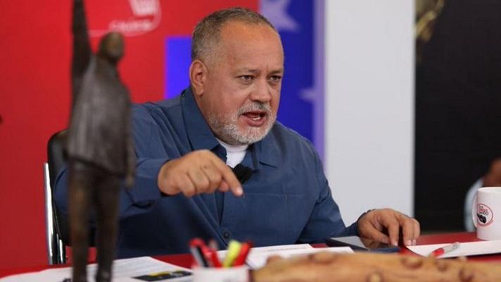 Para Diosdado Cabello, los periodistas que van a cubrir los sucesos del estado Apure,