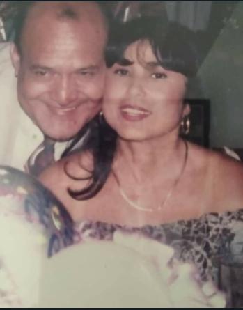 El cuñado y la hermana de Lila Morillo. Foto Instagram