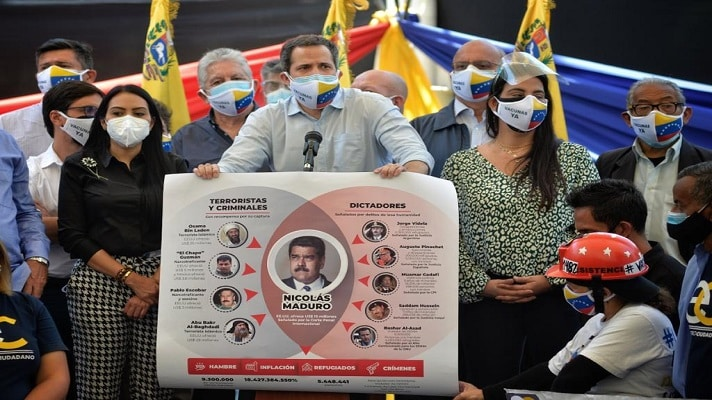 Juan Guaidó trató de explicar este miércoles los alcances del