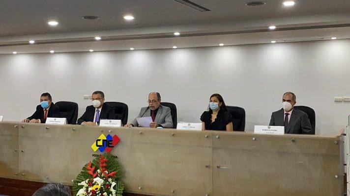 Este miércoles, pasado el medio día, asumieron los nuevos rectores del Consejo Nacional Electoral (CNE), con Pedro calzadilla como presidente y Enrique Márquez como vicepresidente.