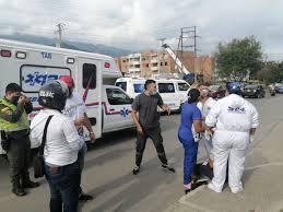 Ataques a la misión médica durante las protestas en Colombia