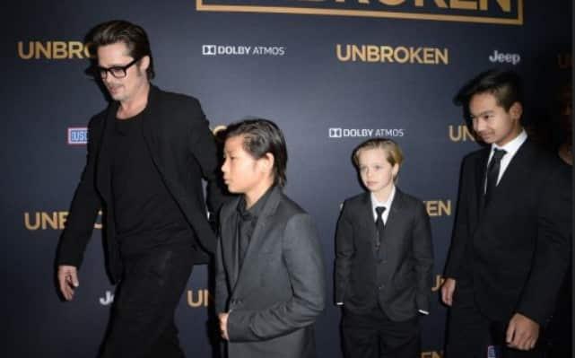 Brad Pitt logra custodia compartida de sus hijos