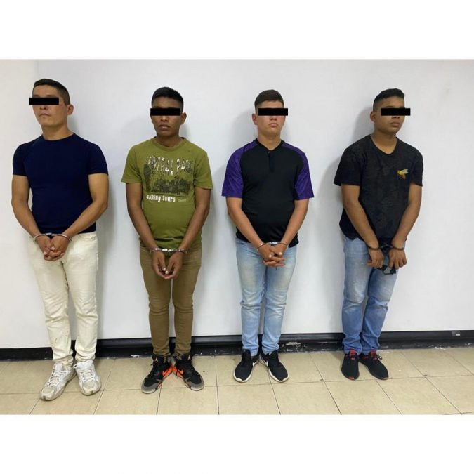 Cuatro efectivos de la Guardia Nacional GN están detenidos por maltrato animal. Estos hombres lanzaron a un gatito por un barranco, grabaron el video y lo subieron a la red Tik Tok.