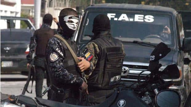 Oficial de las FAES
