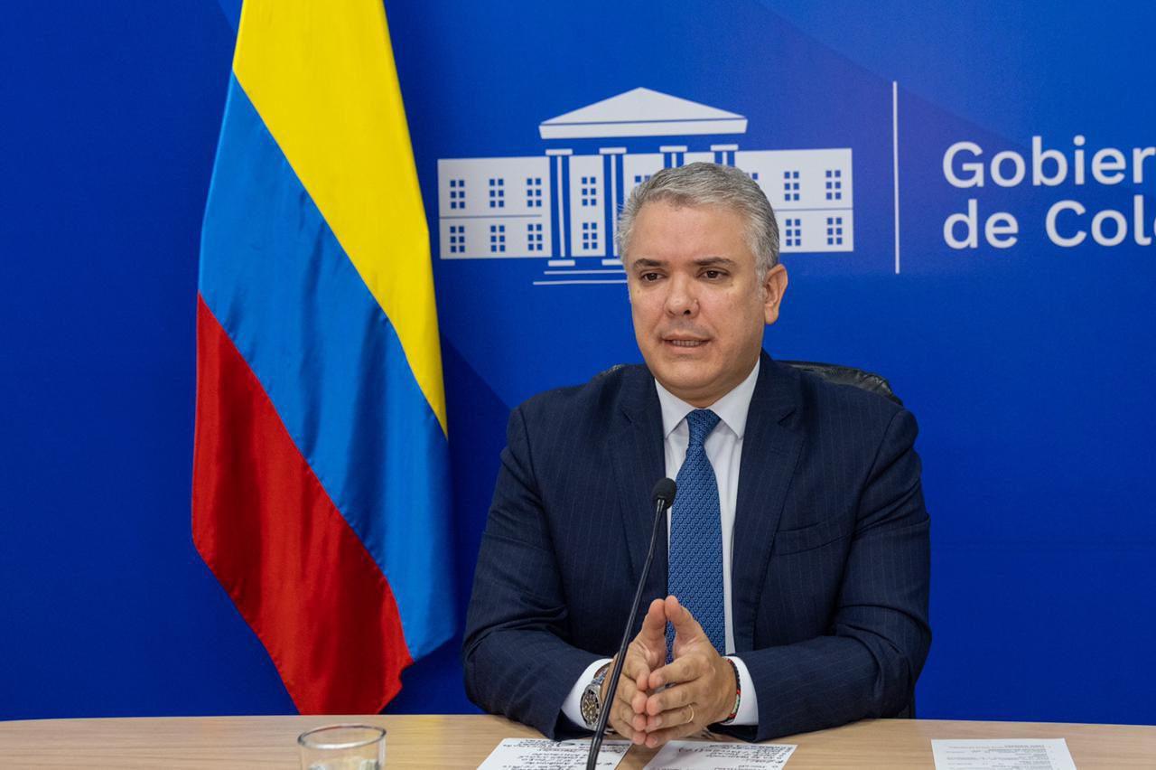 Iván Duque aclara polémica sobre presencia de la CIDH en Colombia. Foto: cortesía
