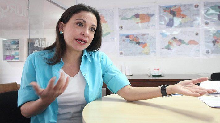 La coordinadora nacional de Vente Venezuela, María Corina Machado, fustigó nuevamente la eventual negociación entre la oposición y Nicolás Maduro, en el contexto del Acuerdo de Salvación Nacional propuesto por Juan Guaidó.