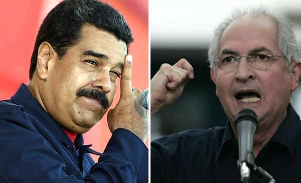 Antonio Ledezma, exalcalde Metropolitano de Caracas, calificó de insólitas las condiciones que puso Nicolás Maduro para el diálogo.