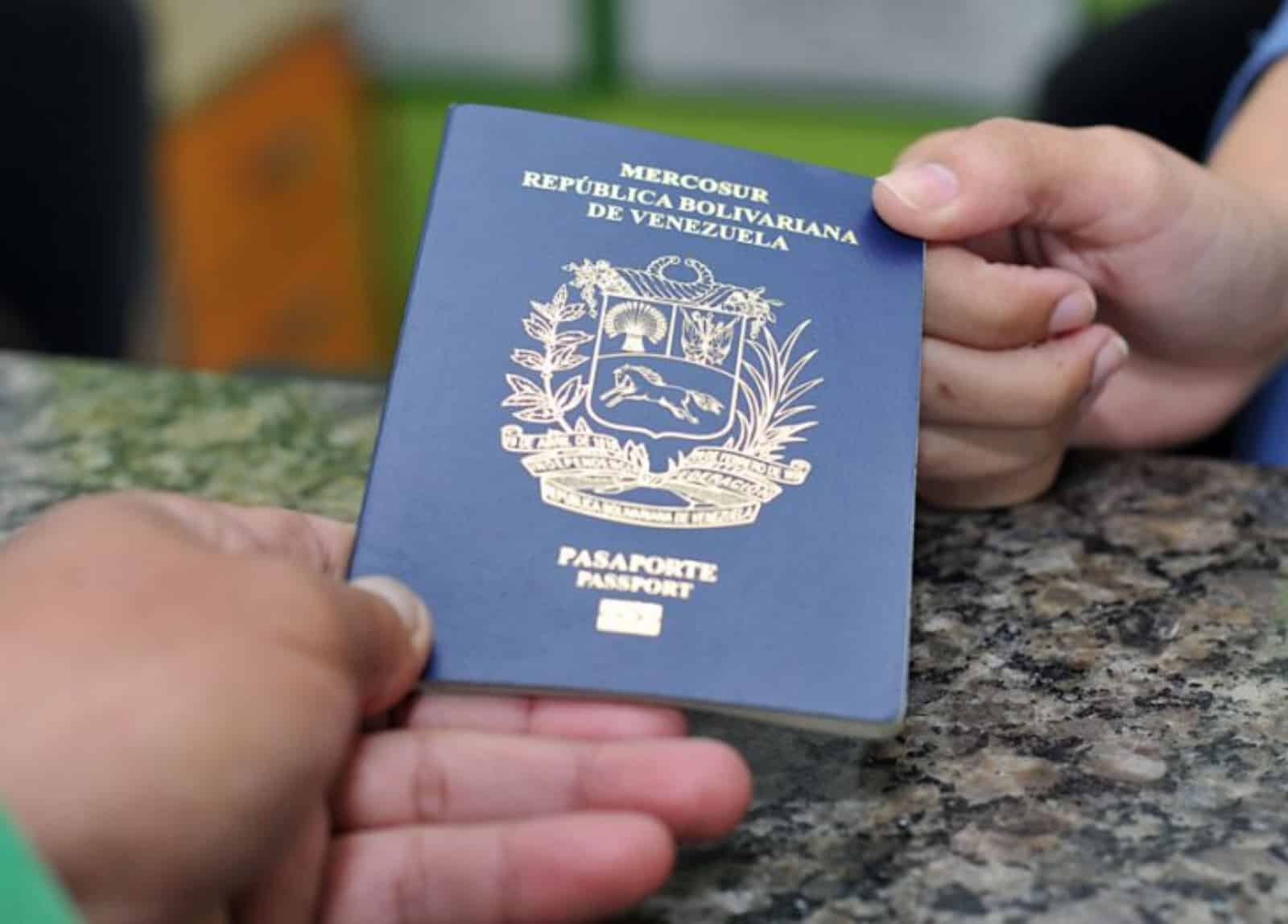 trámites de pasaporte