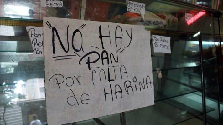 La falta de harina vuelve a ser una angustia para la industria panadera del país. Juan Crespo, presidente de la Federación Nacional de Trabajadores de la Industria de la Harina (Fetraharina), informó que la situación afecta a más de 8000 panaderías en el país.
