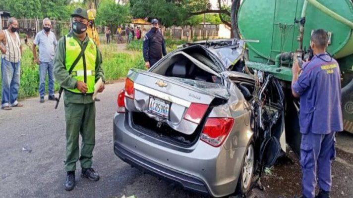 su-esposo-esta-grave-en-accidente-de-transito-fallece-la-hija-del-secretario-de-seguridad-de-la-gobernacion-del-zulia