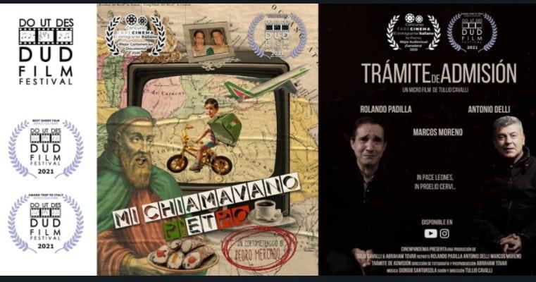 Dos cortos venezolanos triunfan en Toscana
