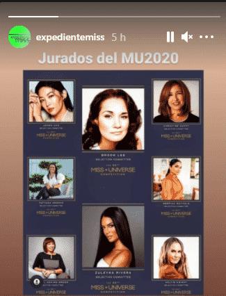 Las encargadas de escoger a la nueva Miss Universo. Foto Instagram