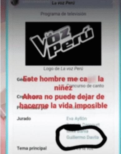 Captura de una de las historias del hijo peruano no reconocido de Guillermo Dávila que hizo el diario La República