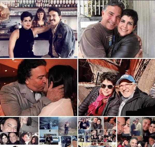 Félix Loreto junto a su esposa. Foto Instagram