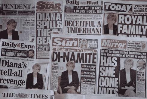 La entrevista de la princesa Diana todavía da mucha tela para cortar. Foto AFP