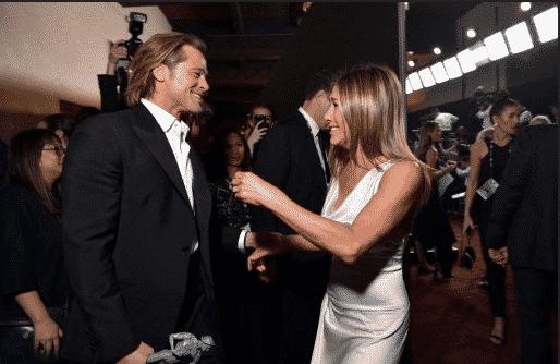 Brad Pitt participó en un capítulo de Friends cuando todavía estaba casado con Jennifer Aniston. Foto AFP