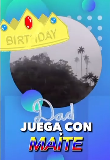 Maite Delgado involucró a sus seguidores en la celebración. Foto Instagram