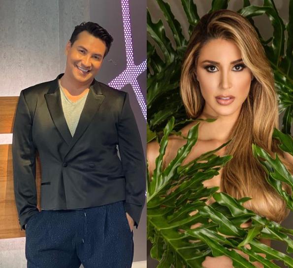 Lucho Borrego entrevistó a Miss Venezuela. Foto Instagram