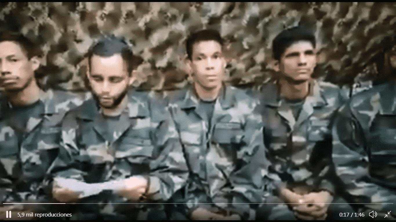 tercer-video-con-nueva-fe-de-vida-los-ocho-soldados-secuestrados-por-las-farc-piden-agilizar-su-rescate