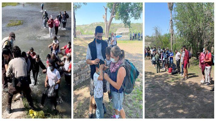 Este domingo, al menos 46 migrantes venezolanos cruzaron el Río Grande desde México hacia Estados Unidos, por Texas. La información la dio a conocer el periodista Bill Melugin, corresponsal de la cadena Fox News, en el estado de Texas.