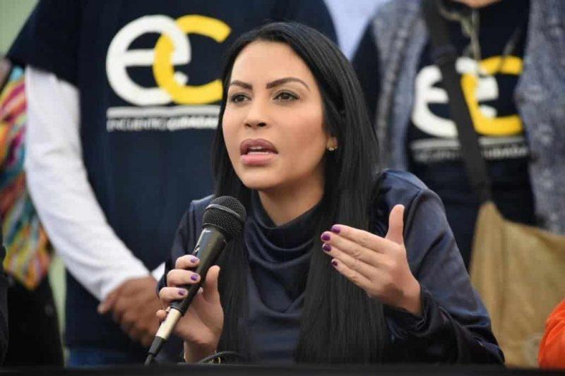 Delsa Solórzano: pretende trasladar presos políticos a cárceles comunes