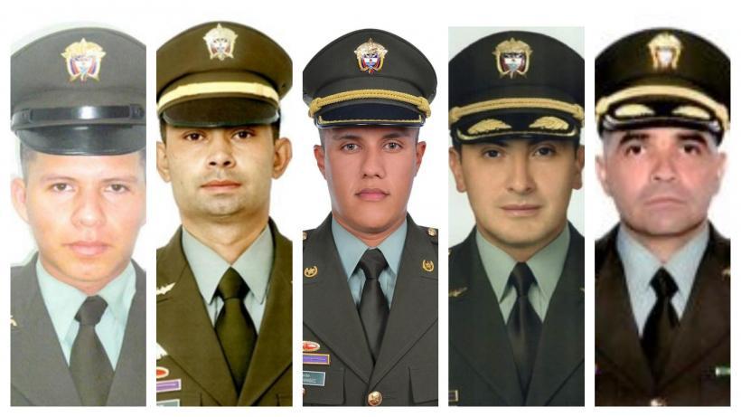 Cinco policás antinarcóticos muertos en accidente de helicóptero
