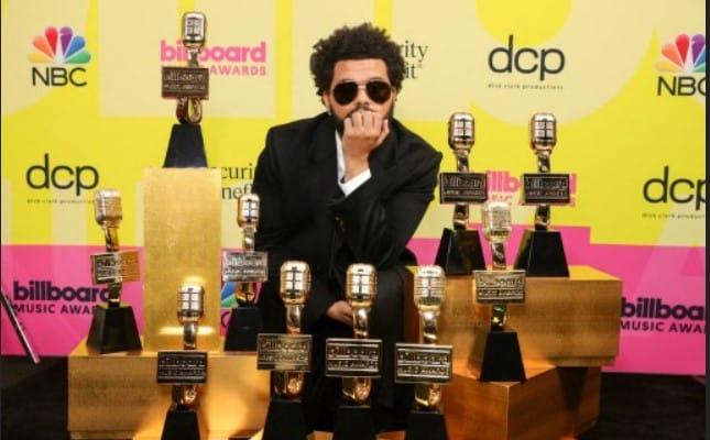 The Weeknd arrasó en los Billboard Music Awards