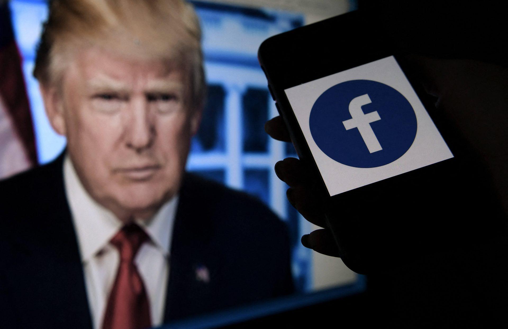 Facebook sanciona por dos años a Donald Trump