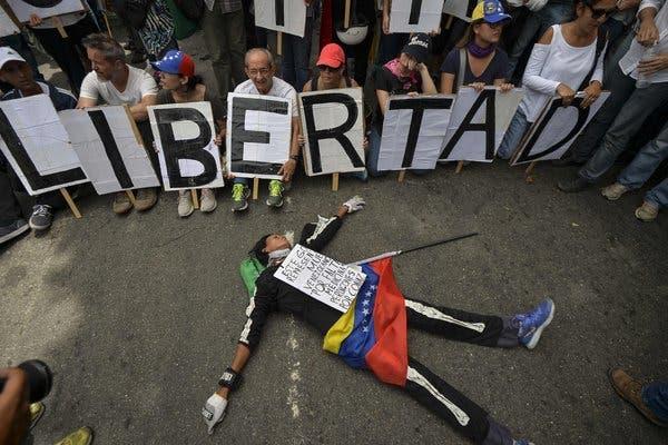 En Venezuela la paz brilla por su ausencia. Foto referencial
