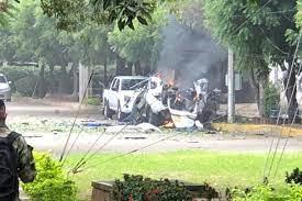 Carro bomba en Cúcuta